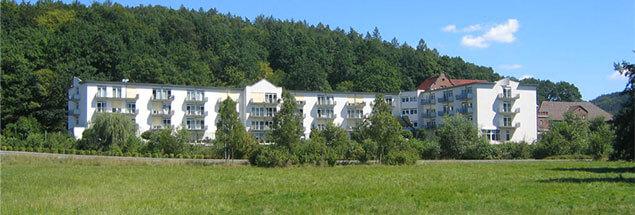 Gebäude des Gesundheitszentrum Main Spessart