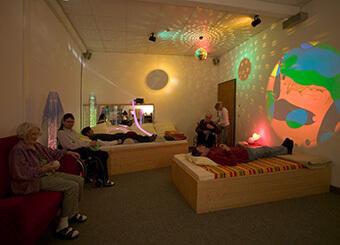 Der Entspannungsraum in unserem Gesundheitszentrum