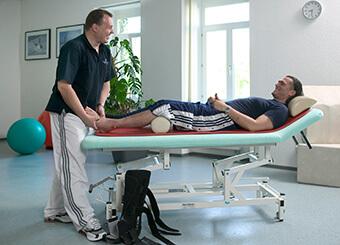Physiotherapie im Gesundheitszentrum