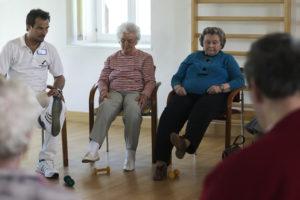 Physiotherapie nach Schlaganfall