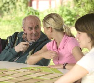 Soziale Betreuung in der allgemeinen Pflege